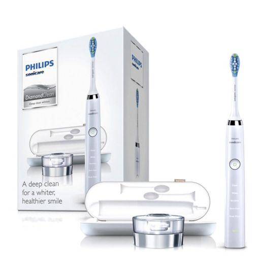 Philips Sonicare HX9331/32 White DiamondClean Electric Toothbrush