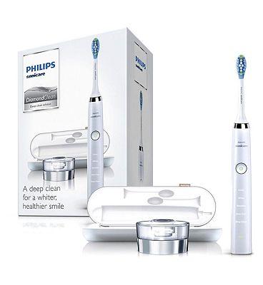 Philips DiamondClean Sonic Electric Toothbrush - White
