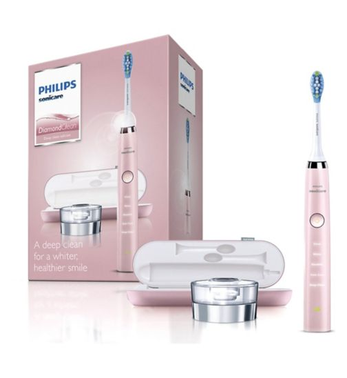 Philips Sonicare HX9361/62 Pink DiamondClean Electric Toothbrush