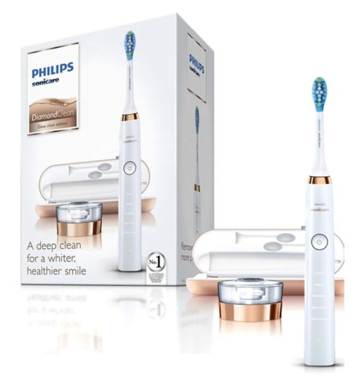 Philips Sonicare HX9391/92 Rose Gold DiamondClean Electric Toothbrush