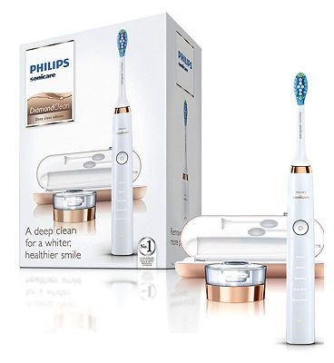Philips DiamondClean Sonic Electric Toothbrush - Rose Gold