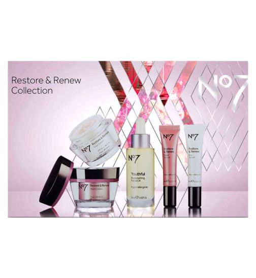 No7 Restore and Renew Collection