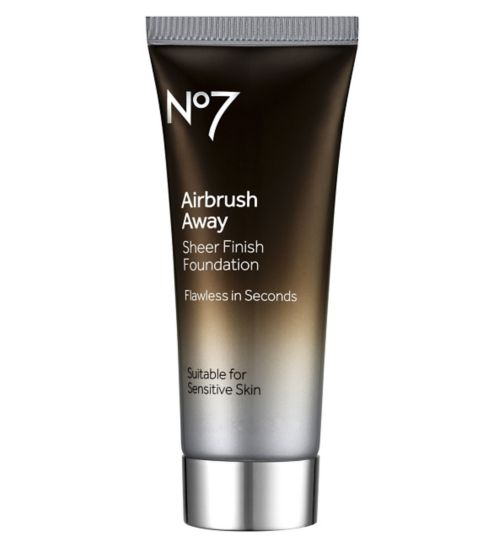 No7 Airbrush Away Sheer Foundation