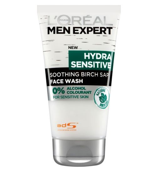 L'Oreal Men Expert Hydra Sensitive Face Wash 150ml