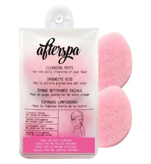 Afterspa Bath and Shower Cleansing Puffs