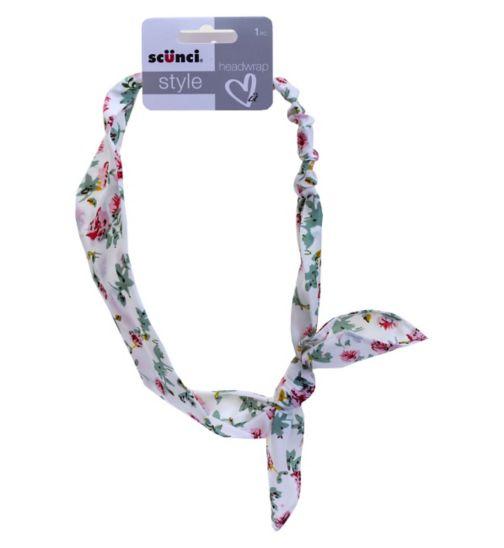 Scunci Style Floral Headwrap