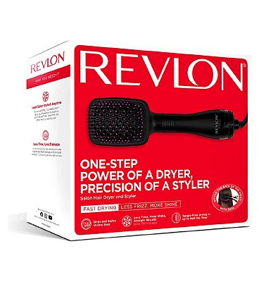 Image of Revlon Pro Collection Salon One Step Hair Dryer & Styler
