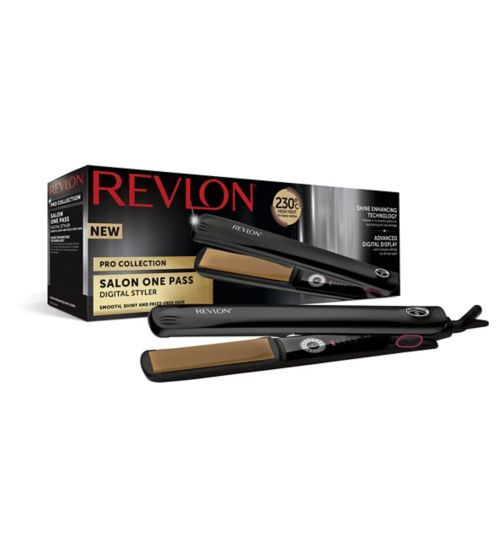 Revlon Pro Collection Salon Digital One Pass Straightener