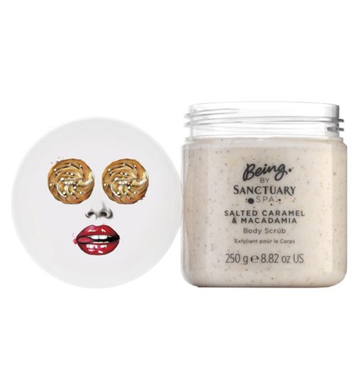 BEING by Sanctuary Spa Salted Caramel and Macadamia Body Scrub