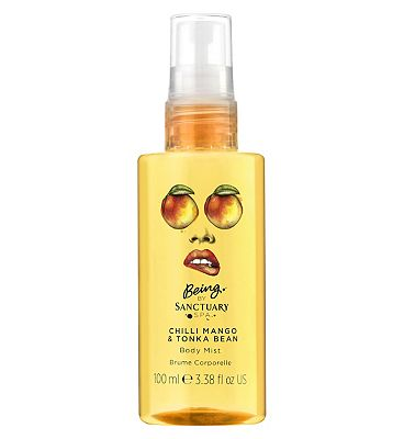 Being by Sanctuary Spa mist chilli mango and tonka bean 125ml