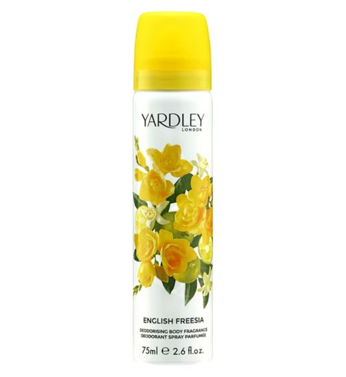Yardley London English Freesia Body Spray 75ml