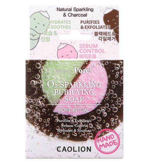 Caolion pore blackhead O2 sparkling soap
