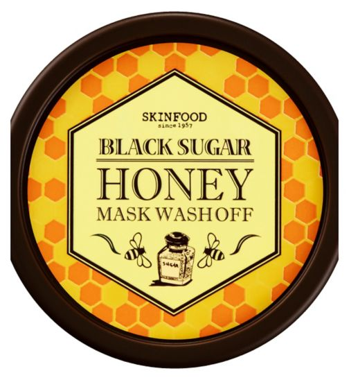 Skinfood Black Sugar Honey Mask Wash Off