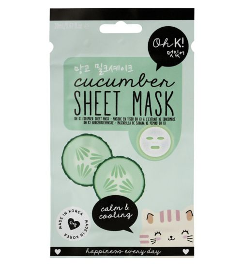 Oh K Cucumber Sheet Mask 23ml