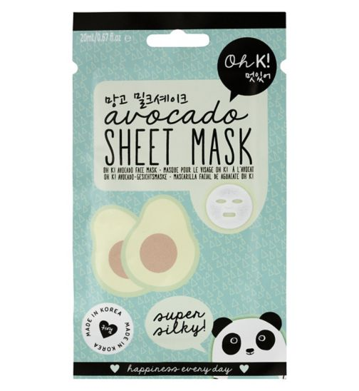 Oh K face mask avocado 23ml