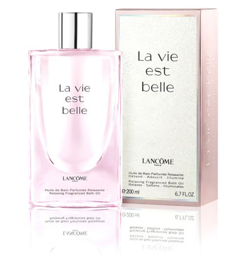 Lancome La Vie Est Belle Relaxing Fragranced Bath Oil