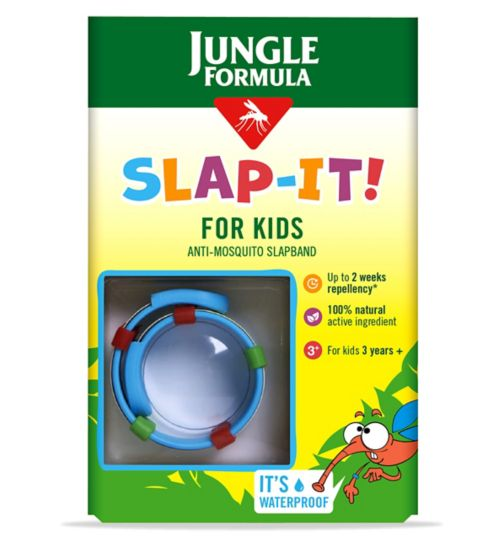 Jungle Formula Slap-it Anti-Mosquito Slapband for kids
