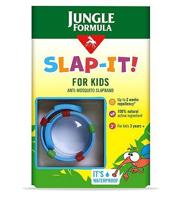 Jungle Formula Slap-it Anti-Mosquito Slapband for kids