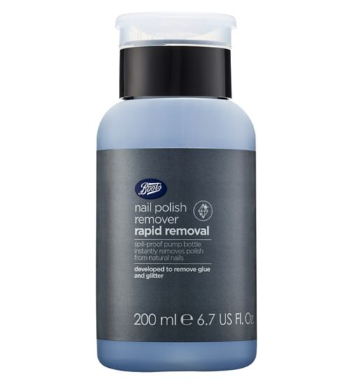 Boots Extra Strength Nail Polish Remover Pump 200ml
