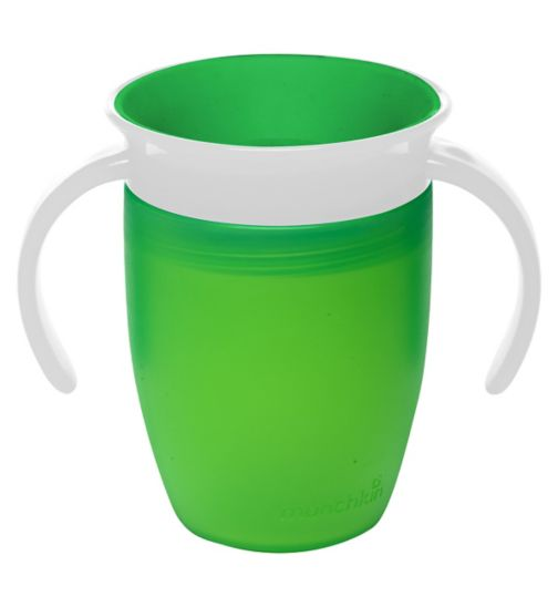 Munchkin Miracle® 360° Trainer Cup 207ml Green
