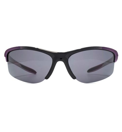 Freedom womens sunglasses semi rimless plastic wrap 26FRG145408