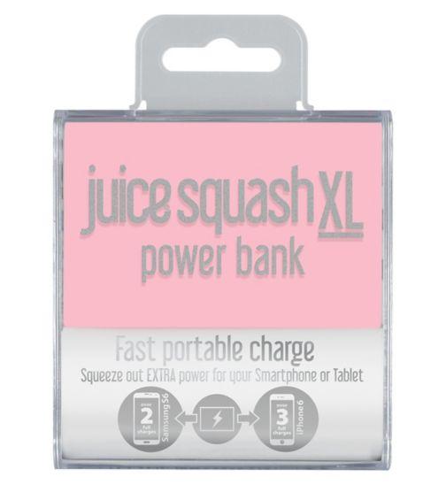 Juice Squash XL in Pastel Pink
