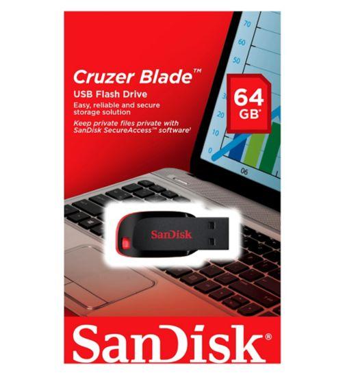 SanDisk 64GB USB Blade