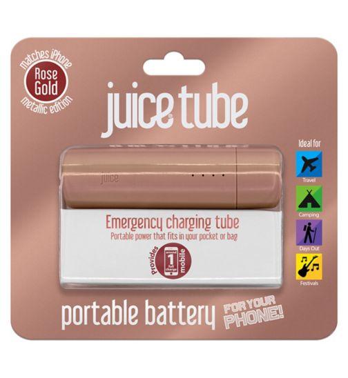 Juice Tube Powerbank Rose Gold