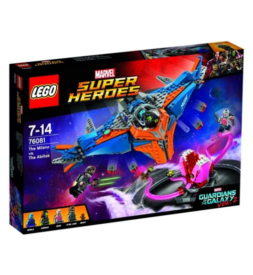 LEGO Marvel Super Heroes The Milano vs. The Abilisk 76081