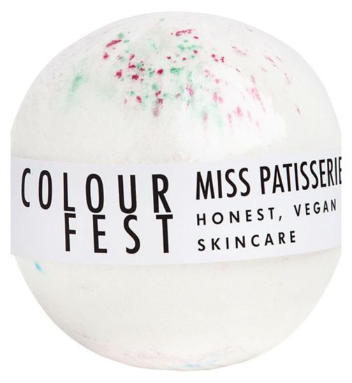 Miss Patisserie colourfest bath ball 200g