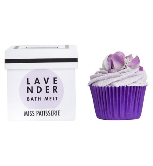 Miss Patisserie lavender bath melt 80g