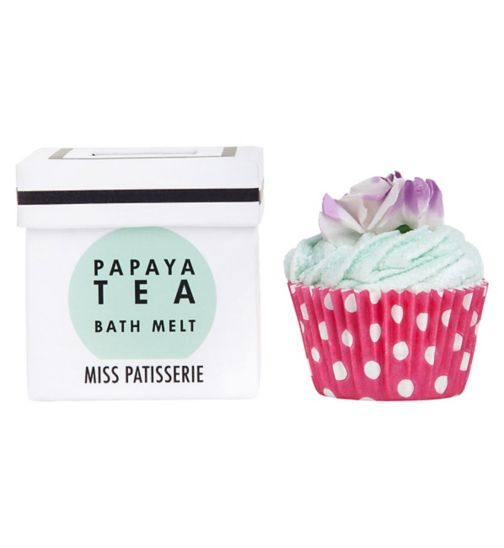 Miss Patisserie papaya tea bath melt 80g