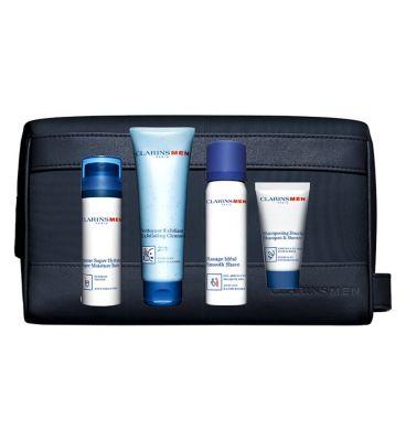 ClarinsMen Grooming Essentials Gift Set