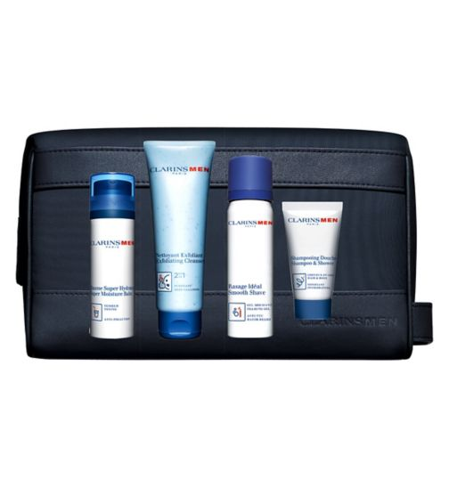 ClarinsMen Grooming Essentials Gift Set