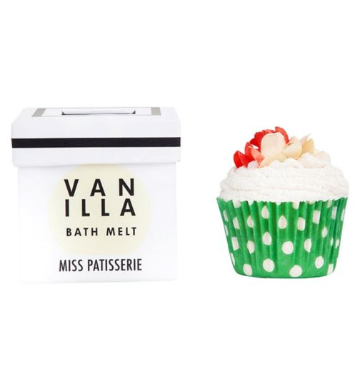 Miss Patisserie vanilla bath melt 80g