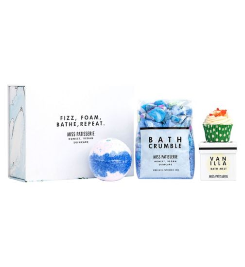 Miss Patisserie fizz foam bathe and repeat box set