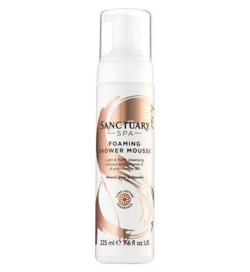 Sanctuary Spa Foaming Shower Mousse 225ml