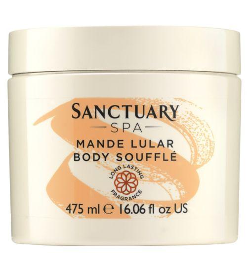 Sanctuary Spa Mande Lular Body Souffle 475ml