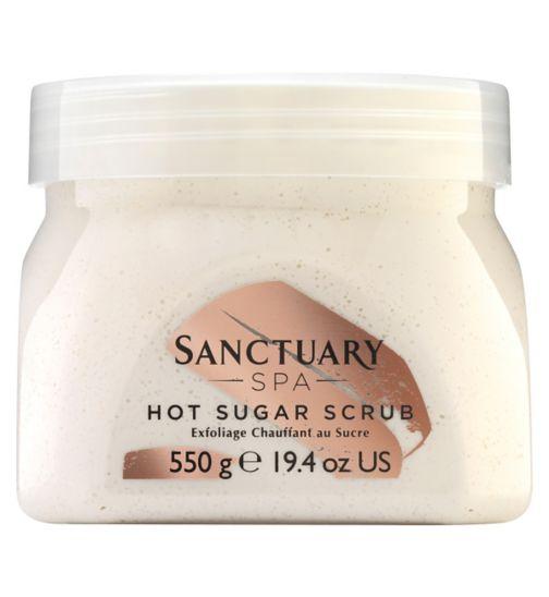 Sanctuary Spa hot sugar scrub 550g