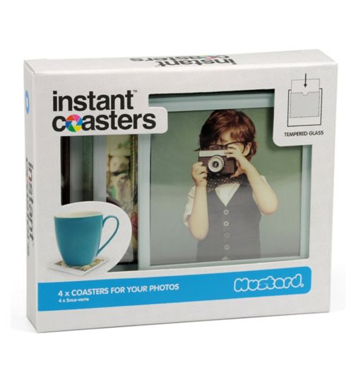 Mustard Instant Coasters