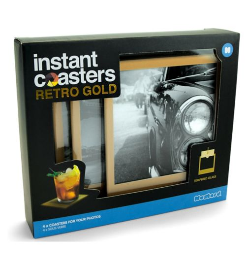 Mustard Gold Instant Coasters