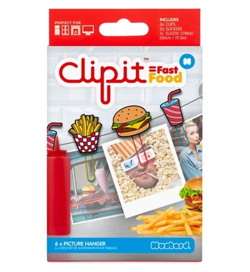 Mustard Clipit Fast Food