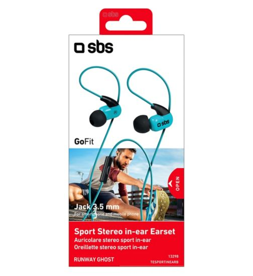 SBS Runway Stereo Ghost in-ear headphones