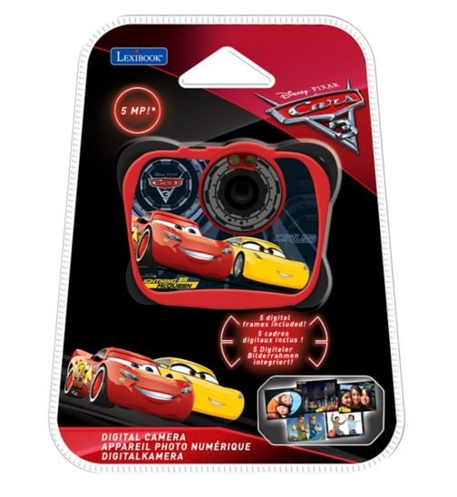 Lexibook disney cars 5mp digital camera with flash