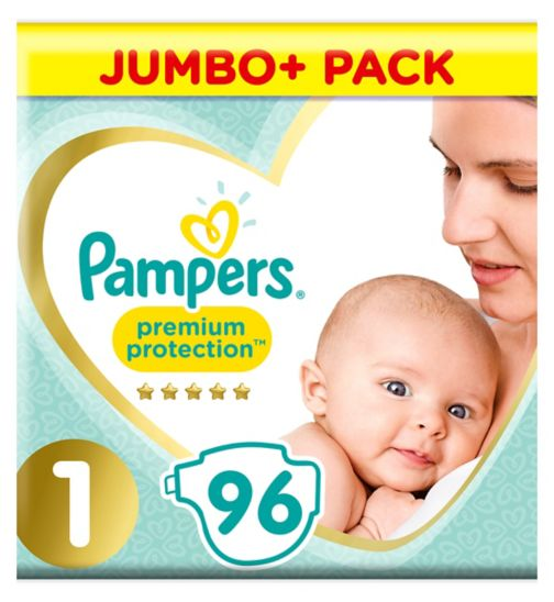 Pampers Premium Protection Size 1 jumbo plus pack