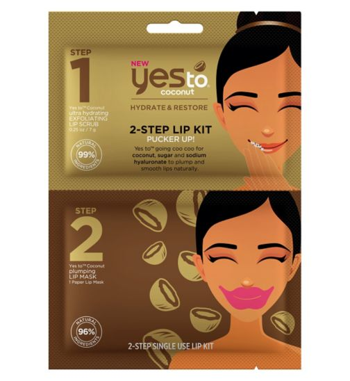 Yes To Coconut 2-Step Lip Kit: Pucker Up!