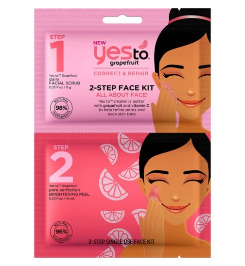 Yes To Grapefruit 2-Step Face Kit: All About Face!