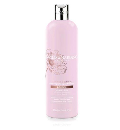 Baylis & Harding Pink Magnolia & Pear Blossom Luxury Shower Crème 500ml