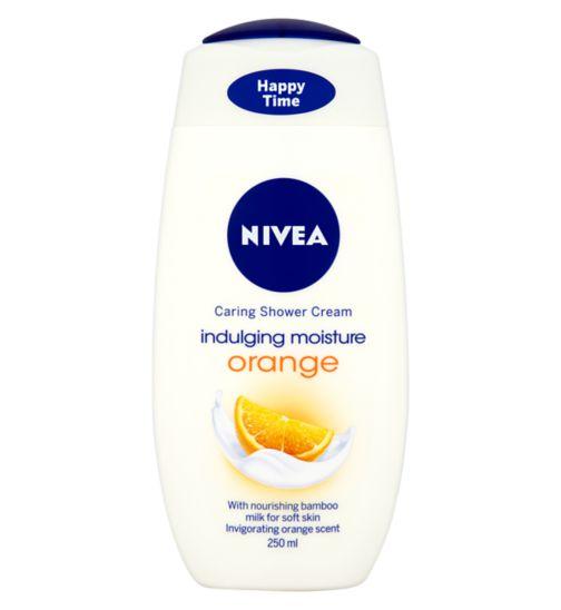 NIVEA® Caring Shower Cream Indulging Moisture Orange 250ml