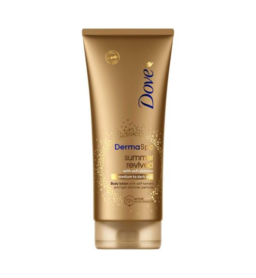 82dea417cfa4 DoveDerma Spa Summer Revived Shimmer Body Lotion 200ml
